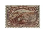 Trans-Mississippi 1898 $2.00 Orange Brown (293)
