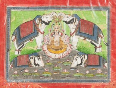 View 5. Thumbnail of Lot 37. RAJASTHAN, LATE 18TH CENTURY AND 19TH CENTURY | SIX INDIAN MINIATURES.