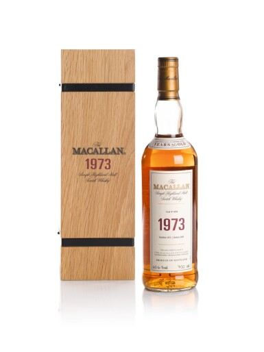 THE MACALLAN FINE & RARE 30 YEAR OLD 60.6 ABV 1973