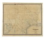 BURR, DAVID H.   Texas. New York: J. H. Colton & Co., 1833