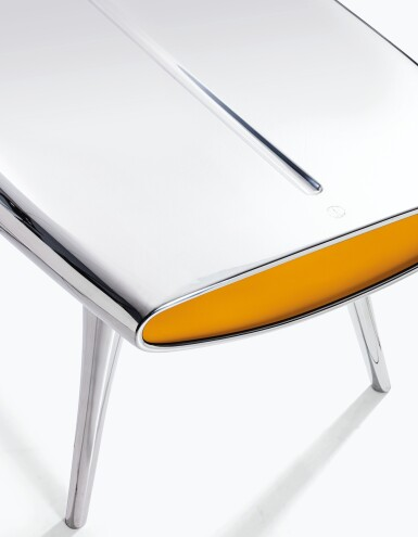 View 2. Thumbnail of Lot 132. MARC NEWSON   EVENT HORIZON TABLE.