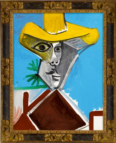 View 2. Thumbnail of Lot 12.  Pablo Picasso 巴布羅・畢加索 | Buste d'homme 男子半身像.
