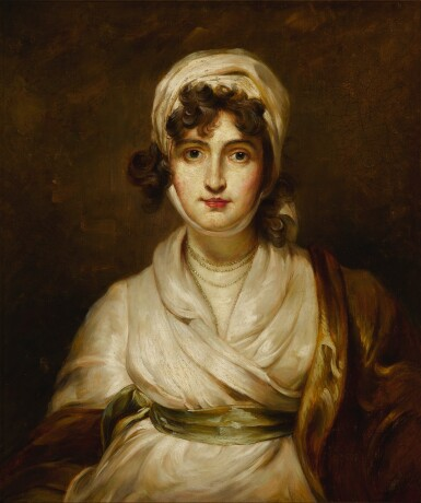 View 2. Thumbnail of Lot 114. Portrait of Sarah Siddons (1755 - 1831), bust-length.