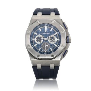 View 1. Thumbnail of Lot 8224. Royal Oak Offshore, Reference 26480TI | A titanium chronograph wristwatch with date, Circa 2020 | 愛彼 皇家橡樹離岸型系列 型號26480TI | 鈦金屬計時腕錶,備日期顯示,約2020年製.