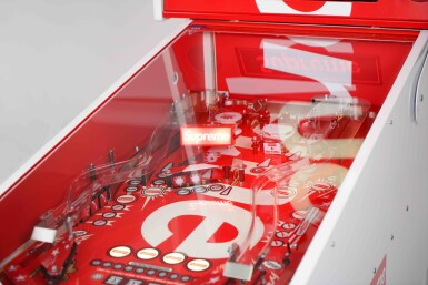 View 2. Thumbnail of Lot 1. SUPREME STERN PINBALL MACHINE.