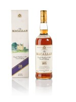 The Macallan 18 Year Old Highland Single Malt 43.0 abv 1971