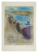 MARC CHAGALL | THE YOUNG METHYMNEANS (M. 324; SEE C. BKS. 46)