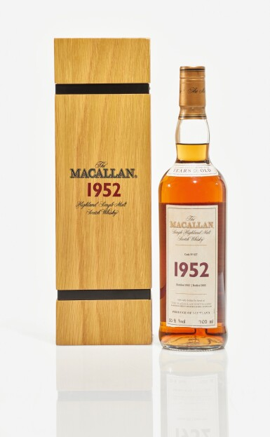 View 1. Thumbnail of Lot 8. The Macallan Fine & Rare 50 Year Old 50.8 abv 1952 (1 BT70cl).