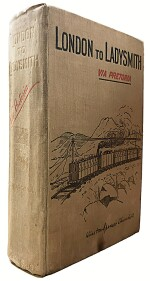 Winston S. Churchill | London to Ladysmith (via Pretoria). London: Longmans, Green, & Co. Ltd., 1900