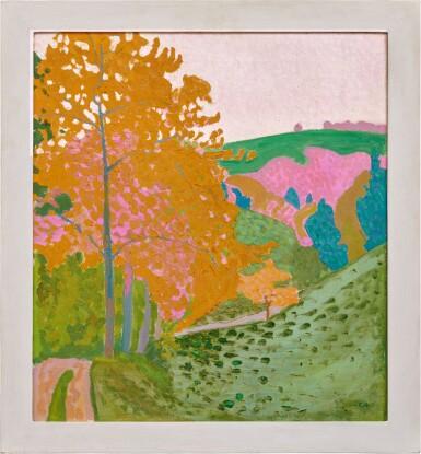 View 2. Thumbnail of Lot 31. CUNO AMIET  |  HERBSTLANDSCHAFT - HERBST AUF DER OSCHWAND, 1906.