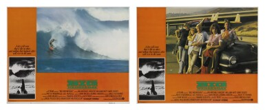Big Wednesday (1978) two lobby cards, US
