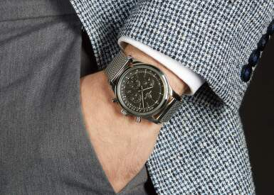 View 4. Thumbnail of Lot 30. BREITLING | TRANSOCEAN CHRONOGRAPH, REFERENCE AB015212,  STAINLESS STEEL CHRONOGRAPH WRISTWATCH WITH DATE AND BRACELET, CIRCA 2012.