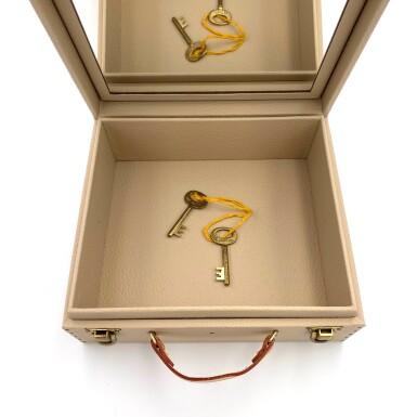 View 12. Thumbnail of Lot 734. LOUIS VUITTON | BOX PHARMACIE TRAVEL CASE IN MONOGRAM CANVAS.