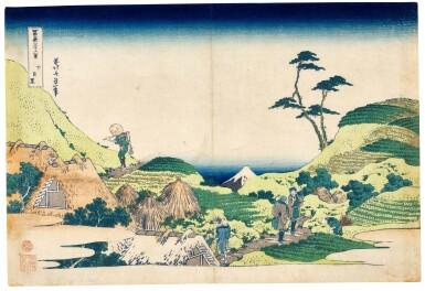 KATSUSHIKA HOKUSAI (1760-1849) LOWER MEGURO (SHIMO-MEGURO) | EDO PERIOD...