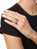 DIAMOND RING, CARTIER, FRANCE