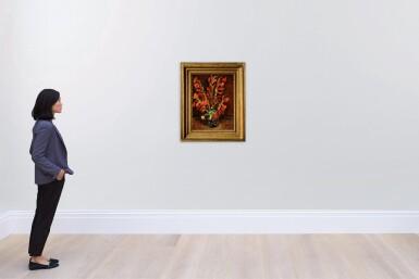 View 4. Thumbnail of Lot 1020. Vincent van Gogh 文森・梵高 | Nature Morte: Vase Aux Glaïeuls 靜物:花瓶與菖蘭.
