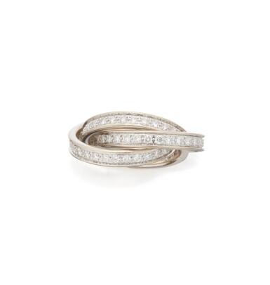 DIAMOND 'TRINITY' RING, CARTIER