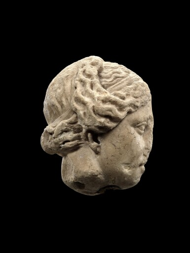 View 2. Thumbnail of Lot 31. A Roman Marble Head of Aphrodite, circa 2nd Century A.D..