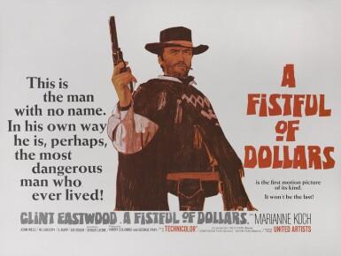 PER UN PUGNO DI DOLLARI/A FISTFUL OF DOLLARS (1964) POSTER, BRITISH