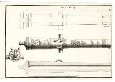 Artillery, a collection of 6 works in Italian, by Capobianco, Collado, Moretti and others, seventeenth century