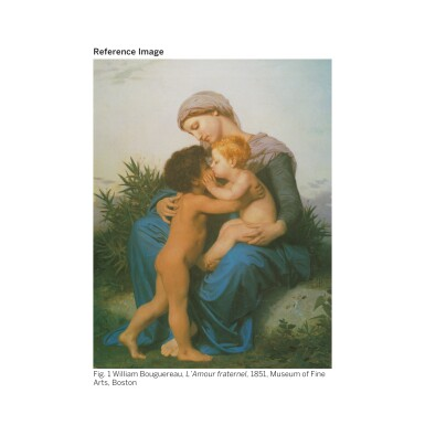View 2. Thumbnail of Lot 28. WILLIAM BOUGUEREAU | SAINTE FAMILLE (RÉDUCTION).