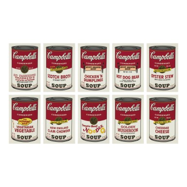 ANDY WARHOL | CAMPBELL'S SOUP II (F. & S. II.54 - 63)
