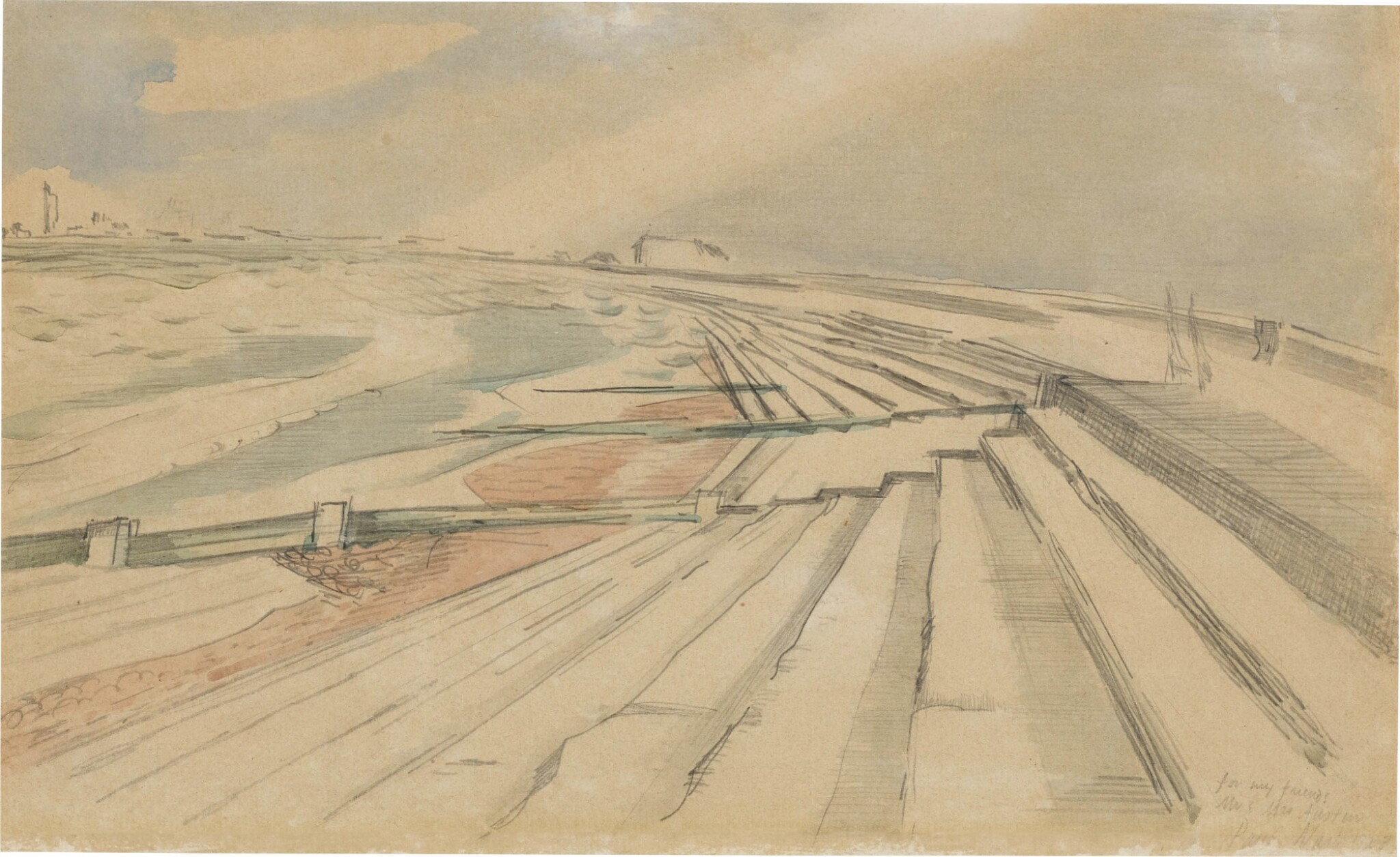 View 1 of Lot 614. PAUL NASH | DYMCHURCH.