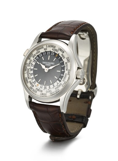 View 2. Thumbnail of Lot 31. PATEK PHILIPPE | REFERENCE 5110, A PLATINUM WORLDTIME WRISTWATCH, MADE IN 2004.