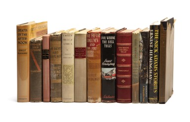 HEMINGWAY, ERNEST | Group of 13 First Editions