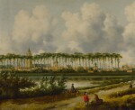 A view of Gorinchem from the southwest