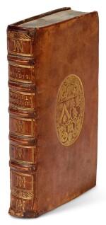 Meursius, Exercitationum criticarum partes II, Leiden, Elzevir, 1599, calf binding for de Thou