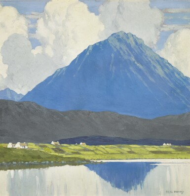 PAUL HENRY, R.H.A., R.U.A.   ERRIGAL, COUNTY DONEGAL