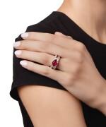 RUBY AND DIAMOND RING | 紅寶石配鑽石戒指
