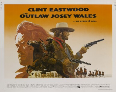THE OUTLAW JOSEY WALES (1976) POSTER, US