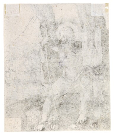 View 4. Thumbnail of Lot 40. Saint Sebald; Buffoon and two Women and a Fool; and Female Genius (B. 65, 214, 258; Holl. 69, 214, 269).