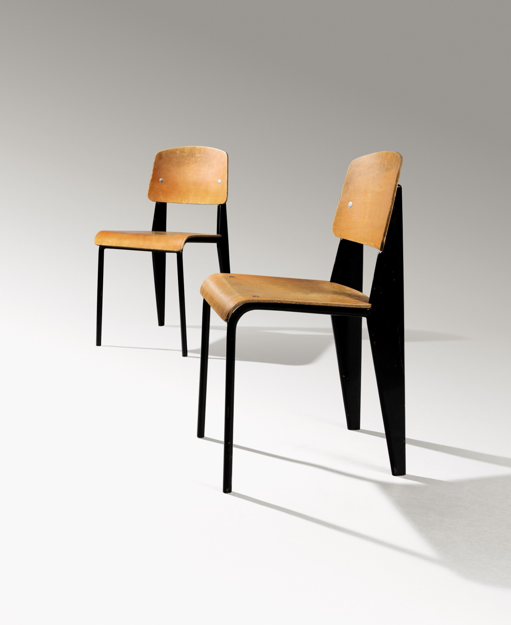 View full screen - View 1 of Lot 7. Pair of Standard chairs, model no. 305, circa 1950.