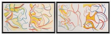View 2. Thumbnail of Lot 2.  WILLEM DE KOONING | QUATRE LITHOGRAPHIES.