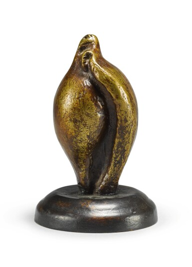 View 1. Thumbnail of Lot 103. HENRY MOORE | SMALL SHELL MOTHER AND CHILD.