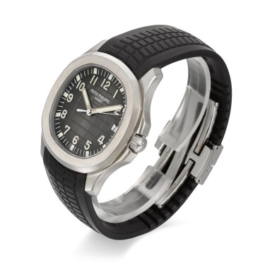 View 2. Thumbnail of Lot 349. PATEK PHILIPPE   AQUANAUT REFERENCE 5167A-001, STAINLESS STEEL AUTOMATIC WRISTWATCH WITH DATE, CIRCA 2010.