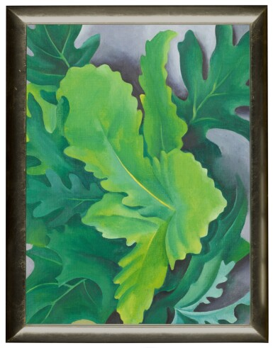 View 2. Thumbnail of Lot 7. Green Oak Leaves.