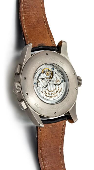 View 3. Thumbnail of Lot 8142. GIRARD-PERREGAUX   WW.TC, REFERENCE 4980   A TITANIUM WORLD TIME CHRONOGRAPH WRISTWATCH WITH DATE, CIRCA 2002   芝柏   WW.TC 型號4980   鈦金屬世界時間計時腕錶,備日期顯示,約2002年製.