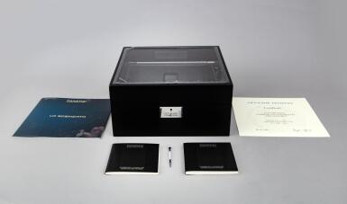 View 8. Thumbnail of Lot 311. Reference PAM00528 Luminor 1950 Tourbillon GMT  A limited edition black ceramic and titanium skeletonized tourbillon dual time wristwatch, Circa 2014.