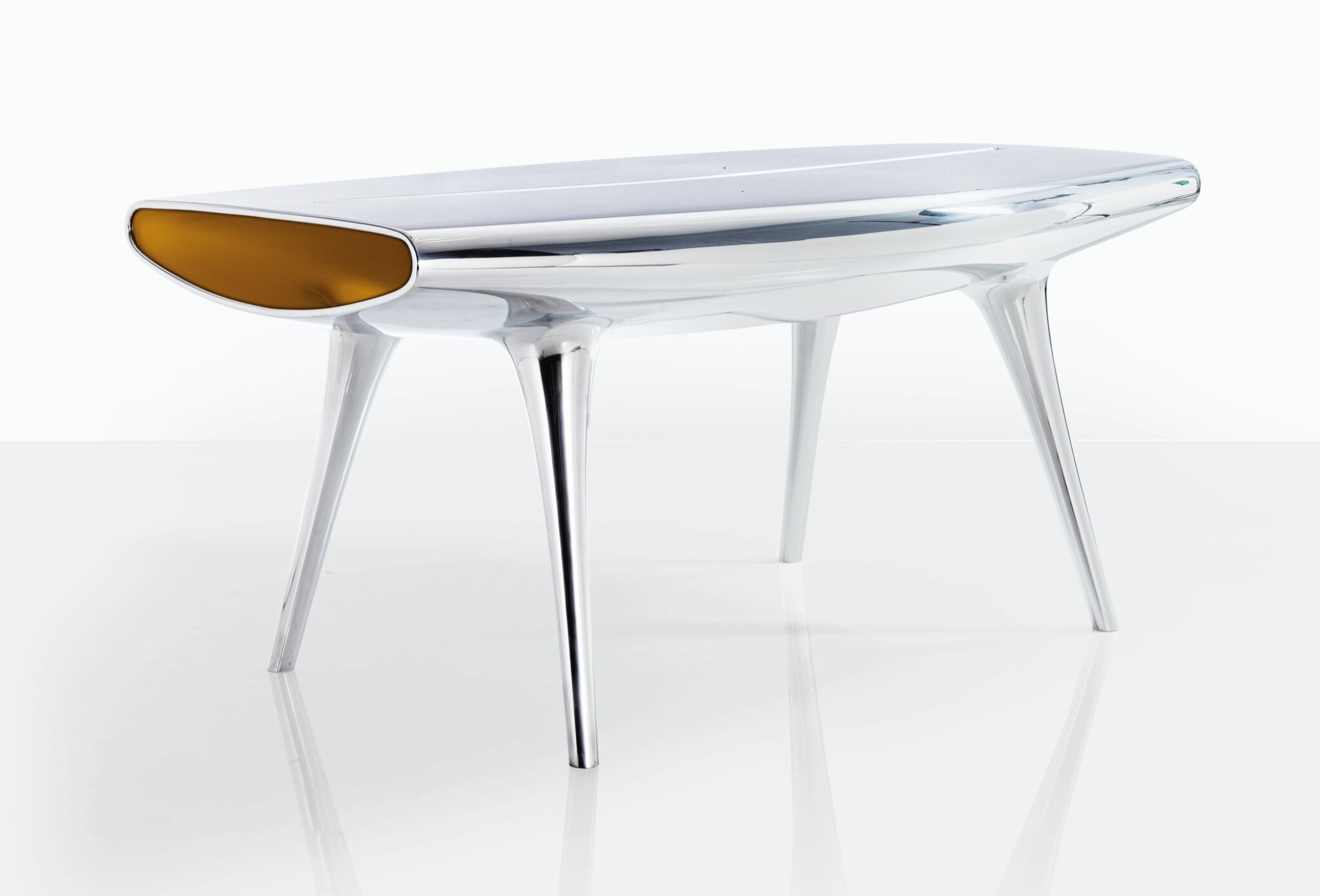 View full screen - View 1 of Lot 132. MARC NEWSON   EVENT HORIZON TABLE.