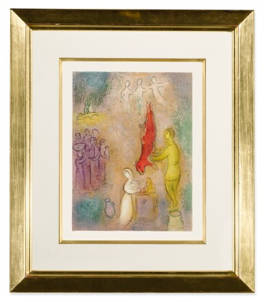 View 2. Thumbnail of Lot 15. MARC CHAGALL   SACRIFICES MADE TO THE NYMPHS (M. 330; SEE C. BKS. 46).