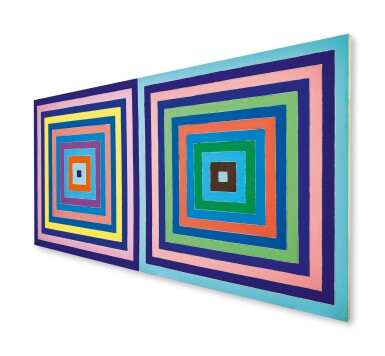 View 3. Thumbnail of Lot 20. Frank Stella 弗蘭克・斯特拉  | Untitled (Double Concentric Square) 無題(雙同心正方形).
