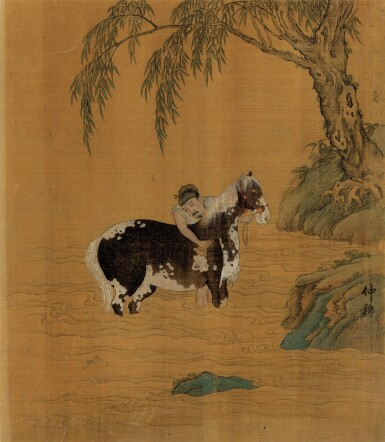View 7. Thumbnail of Lot 2522.  ANONYMOUS 佚名   ALBUM OF VARIOUS OBJECTS AFTER SONG AND YUAN MASTERS 擬宋元諸家雜畫冊.