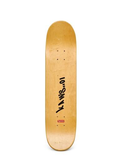 View 2. Thumbnail of Lot 9019. KAWS | KAWS X SUPREME Chum Skate Deck.