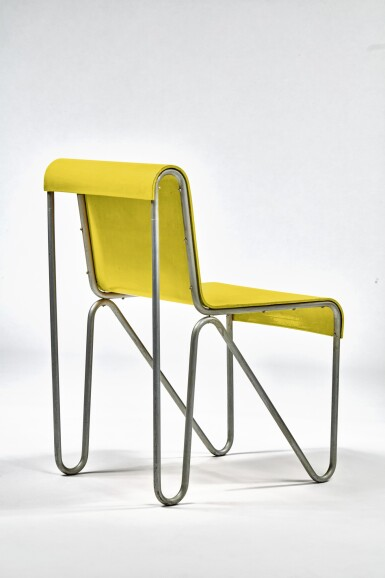 """View 4. Thumbnail of Lot 10. """"Beugel"""" Chair."""