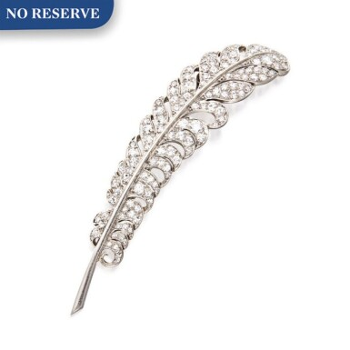 MAUBOUSSIN | DIAMOND BROOCH