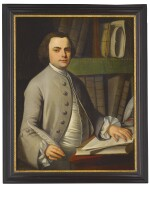 ATTRIBUTED TO JOHN SINGLETON COPLEY | PORTRAIT OF A YOUNG MERCHANT